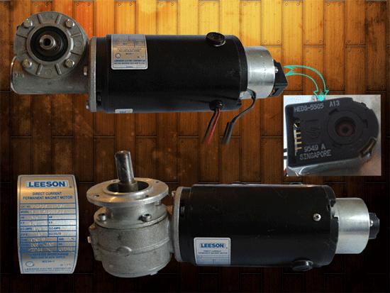 موتورگیربکس حلزونی 32 دور