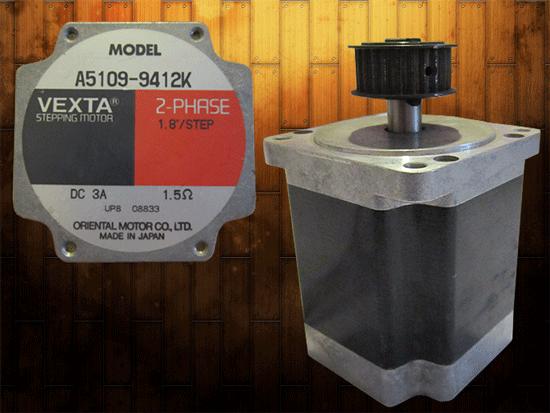 استپ موتور 2 فاز-1 اهم- فلنچ 85